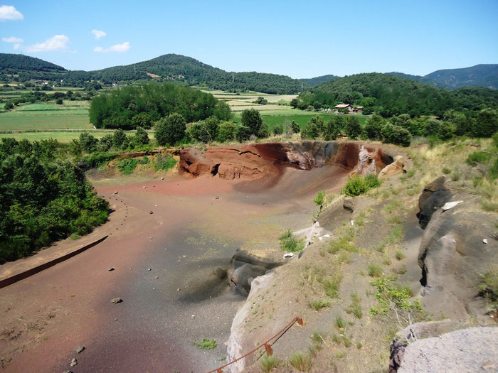 Вулкан Кроскат Испания
