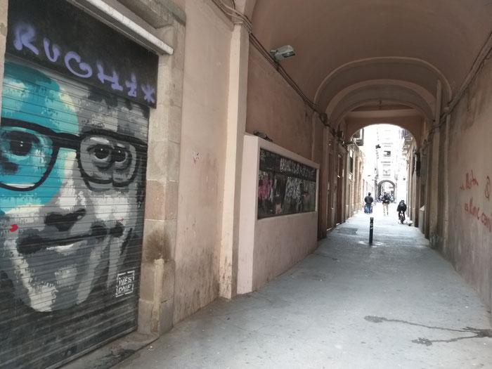 Улицы Барселоны - стрит-арт