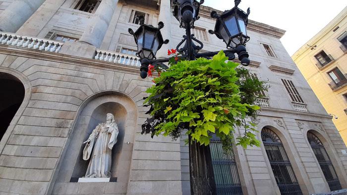 Барселона, площадь Сант-Жауме