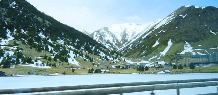 Поездка в Пиренеи - Валь де Нурия