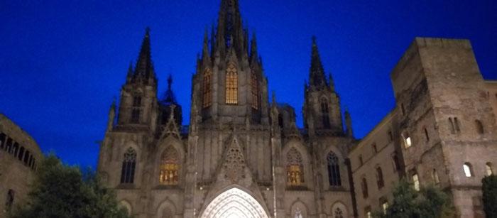 Вокруг Кафедрального Собора Барселоны