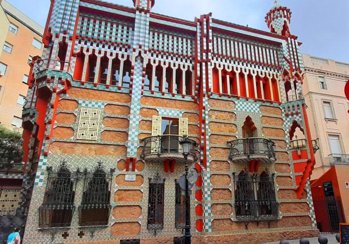 Дом Висенс - путеводитель по Барселоне.