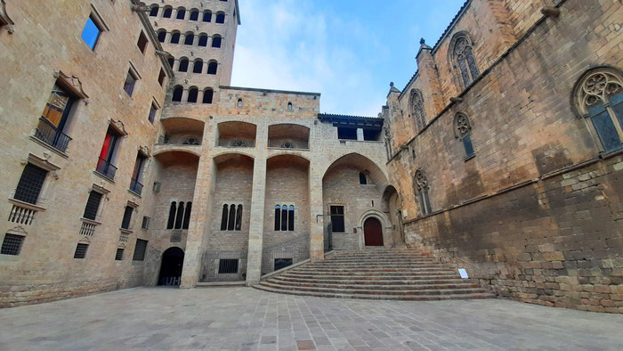 Барселона (Испания) - площадь Короля