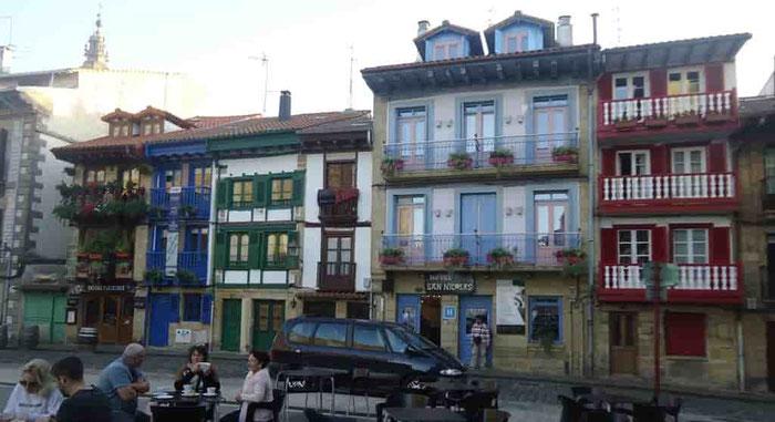Самые красивые города Испании - Хондаррибия