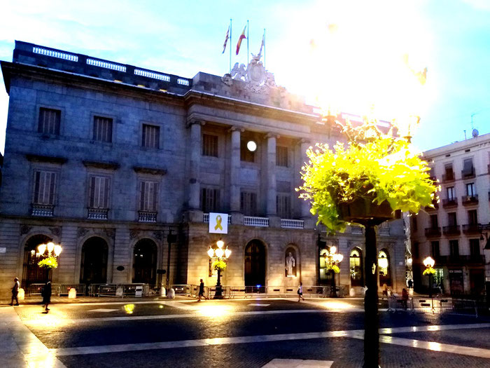 Секреты площадей старой Барселоны