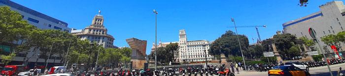 Площадь Каталонии, история и факты