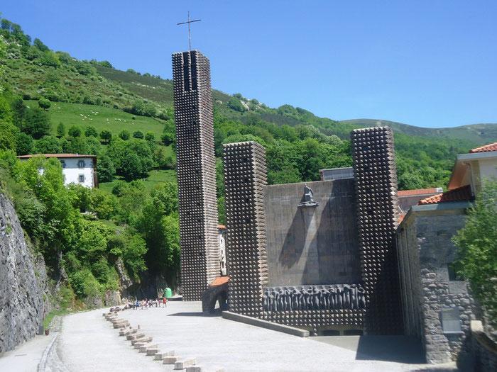 Святилище Аранзазу - тайные места Испании