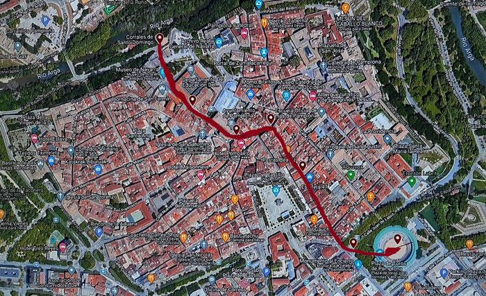 Памплона (Испания) и её праздники