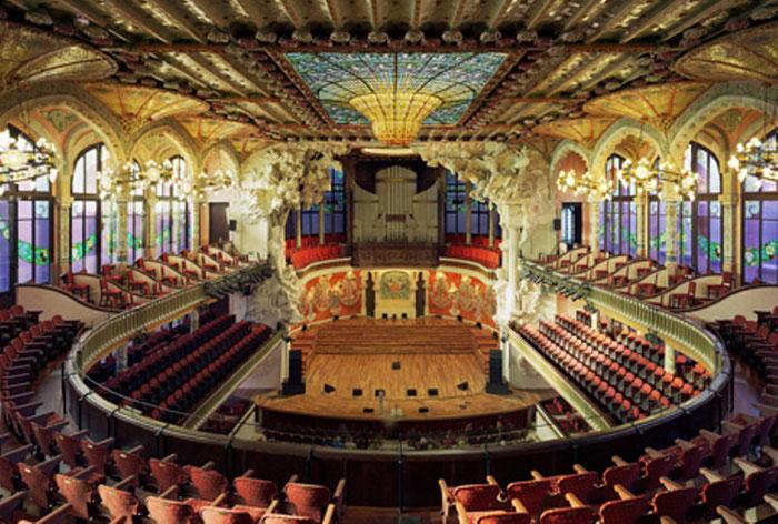 Дворец каталонской музыки в Барселоне
