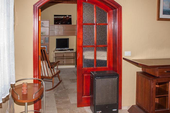 Zugang zum kleinen Wohnzimmer
