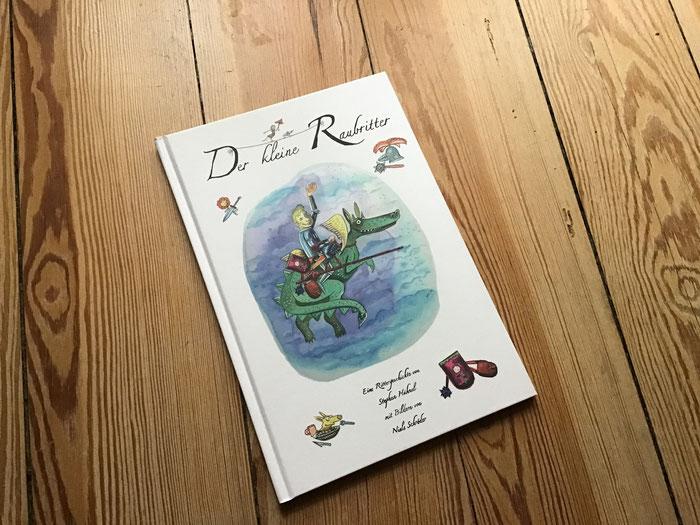 Bilderbuch in Aquarelltechnik.