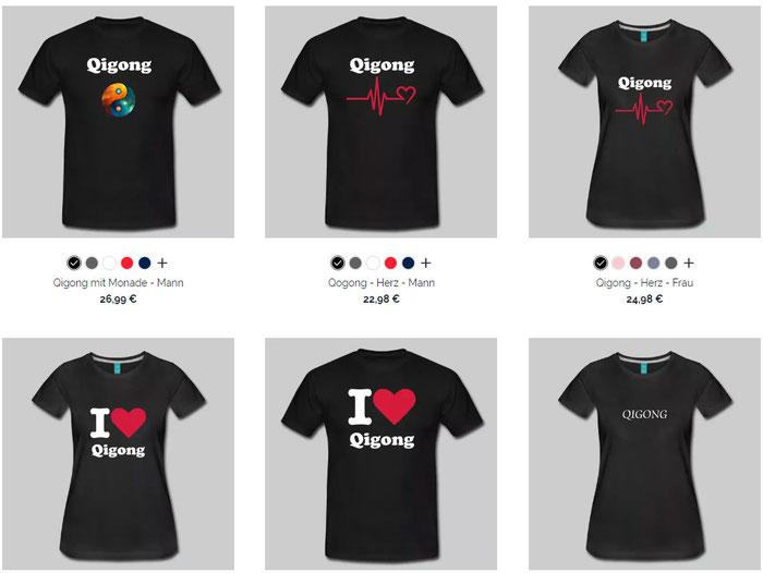 T-Shirt, Qigong, Runen, Ogham,