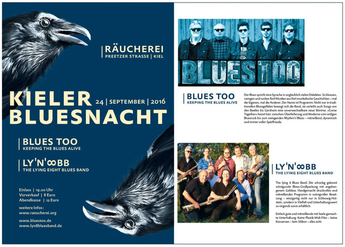 BLUES TOO und der LY'N' 8 BLUES BAND