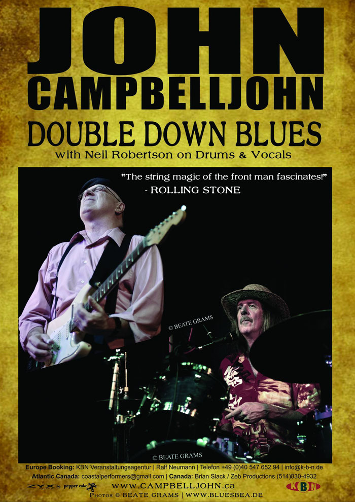 John Campbelljohn Double Down Blues - 10/2015