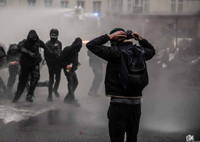 Manifestation Paris 22 Mars 2018 Léo Derivot Photographe