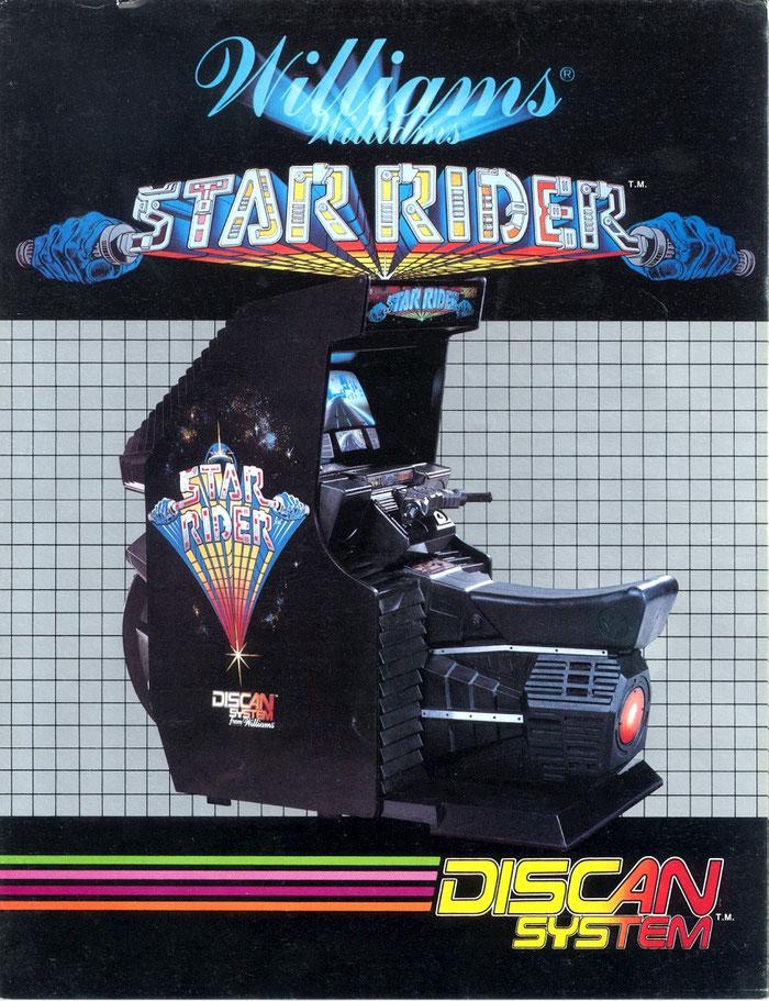 Star Rider arcade