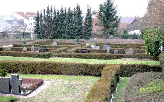 Auf den Malscher Friedhof gab es ein Gräberfeld, auf dem Menschen beerdigt wurden, die an der Ruhe gestorben sind waren. Das Feld wurde 1952 abgeräumt.