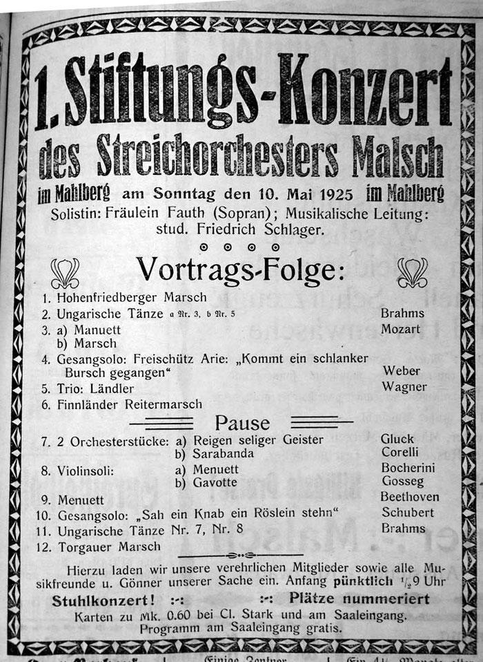 10. Mai 1925