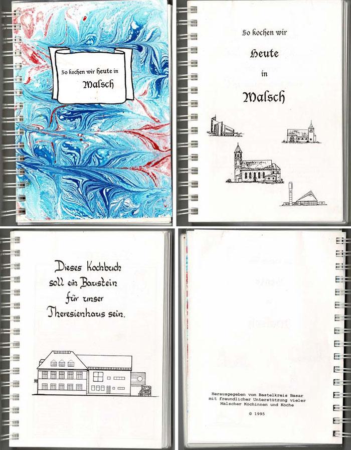 Kochbuch 1995, mit Klick vergrößern.