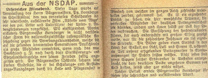 Gemeinde-Anzeiger vom 14. April 1937