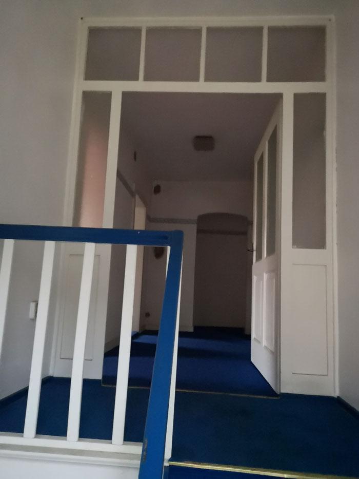 Wenn Sie dies sehen, haben Sie die herrschaftliche Treppe fast bezwungen.