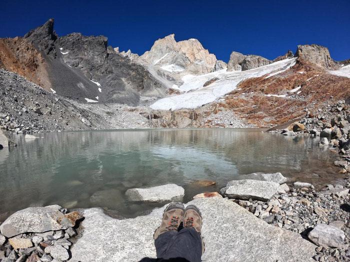 Cerro Fitz Roy, Paso del Cuadrado