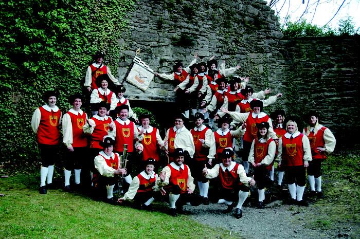 2008 - Zum 50. Jubiläum an der Burg Liebeneck