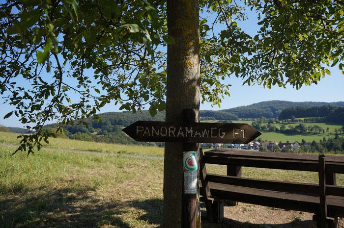 Unterwegs auf dem Panoramen F1 am Fischbachtal aktiv Wochenende.