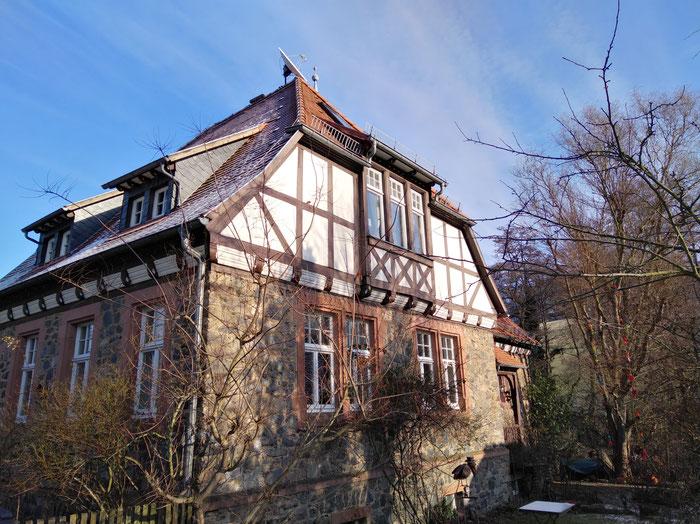 Das alte Schulhaus in Meßbach, Fischbachtal