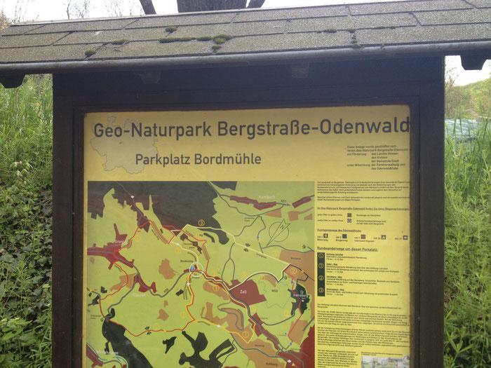 Im Gronauer Tal liegt am Ortsausgang von Zell der Parkplatz Bordmühle.