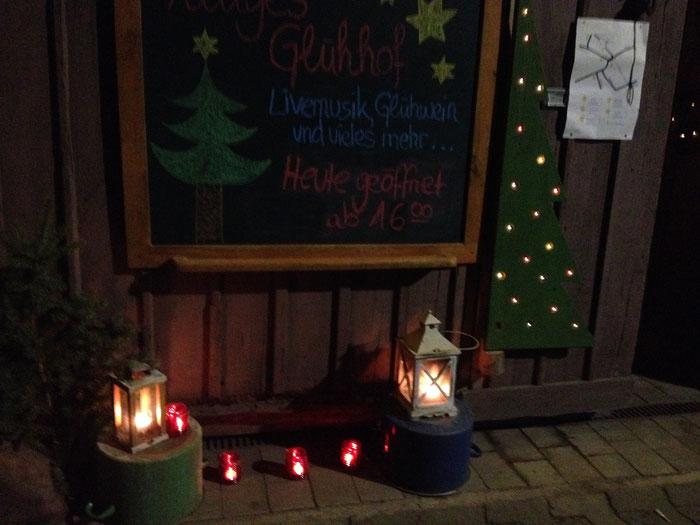 Weihnachtsmarkt mal anders: private Höfe öffnen Ihre Tore in Habitzheim. (©odenwaldlust.de)