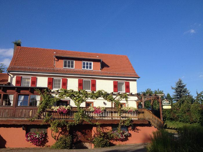 """Das Gasthaus """"Zur Freiheit"""" bietet kreative regionale Küche."""
