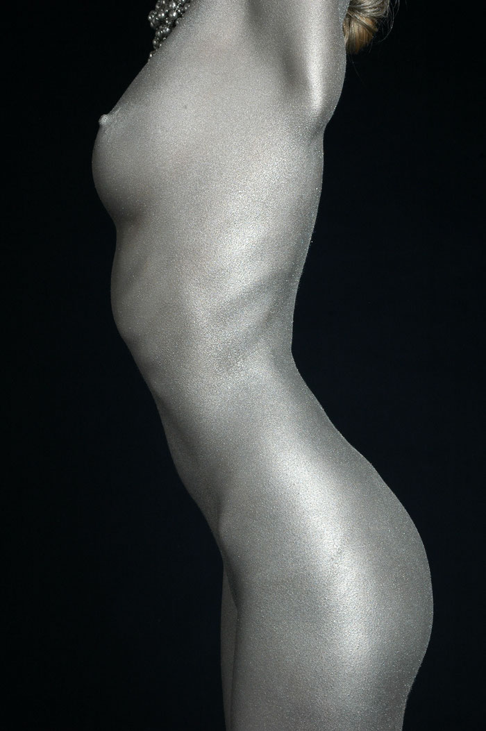 "2008: ""SILVER"" [Bodypainting] - special limited Edition of 10 - 70x100cm 