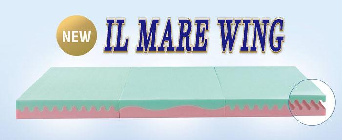 イルマーレ・ウィング (三つ折りマットレス) magniflex マニフレックス