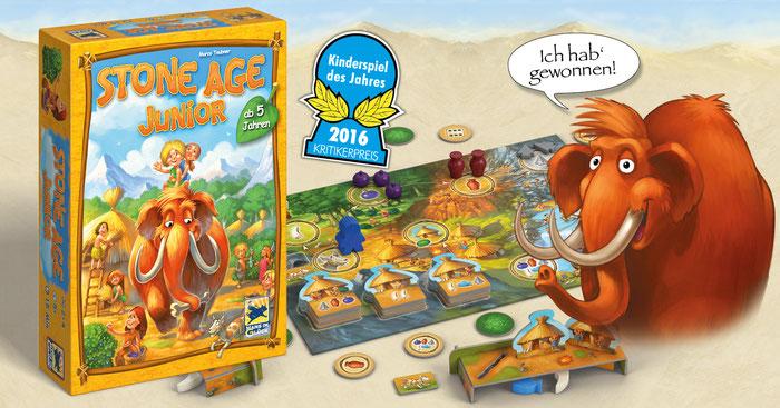"""Stone Age Junior ist """"Kinderspiel des Jahres 2016"""""""
