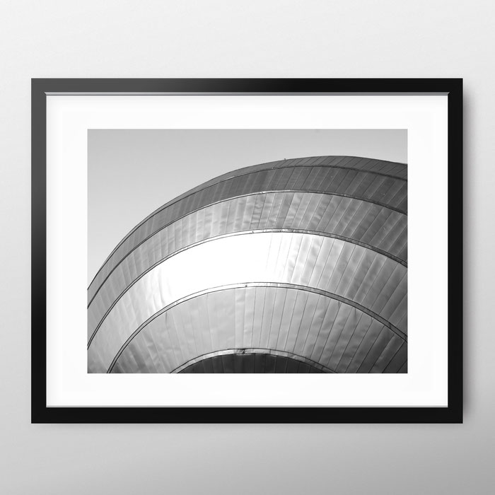 Minimal architecture photography 'Curves' by PASiNGA