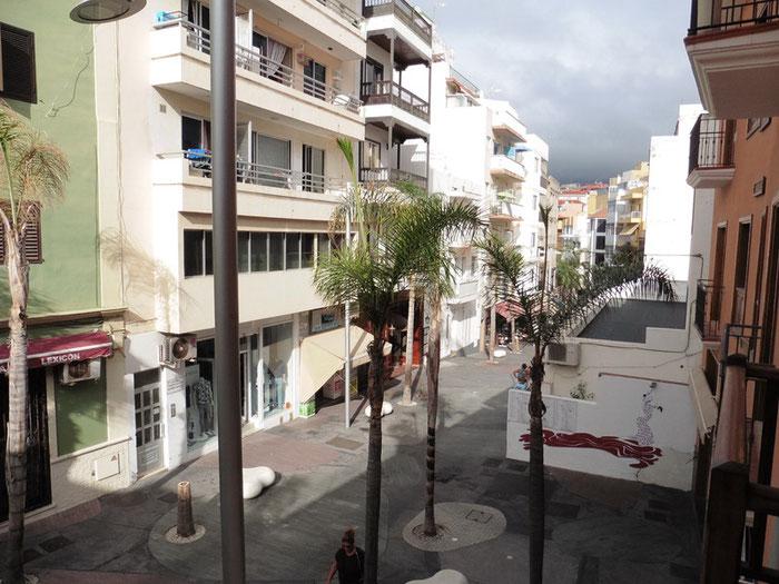 Calle la Hoya in Puerto de la cruz