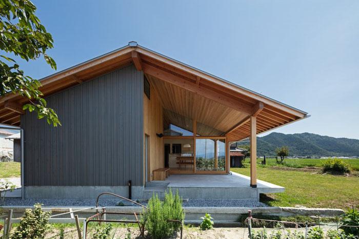 湖東の家|烏野建築設計室 photo@Yohei Sasakura