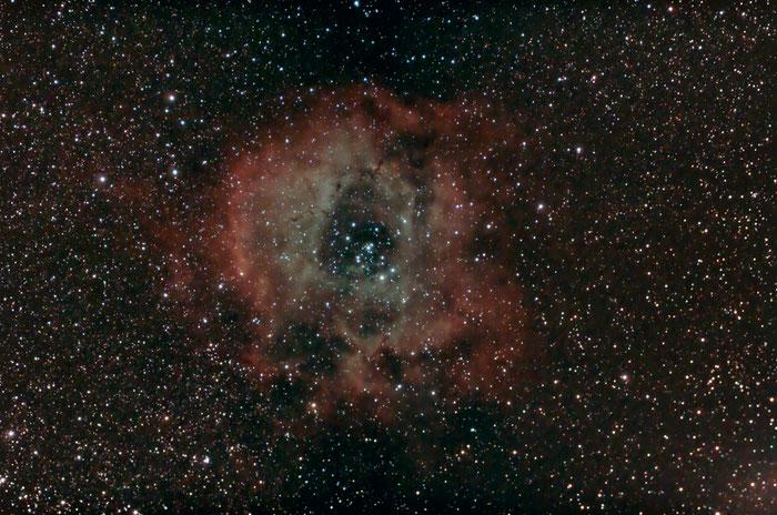 NGC 2244, Rosettennebel