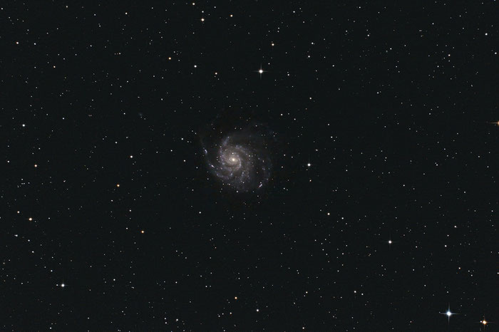 M101, Feuerrad-Galaxie, Pinwheel-Galaxie