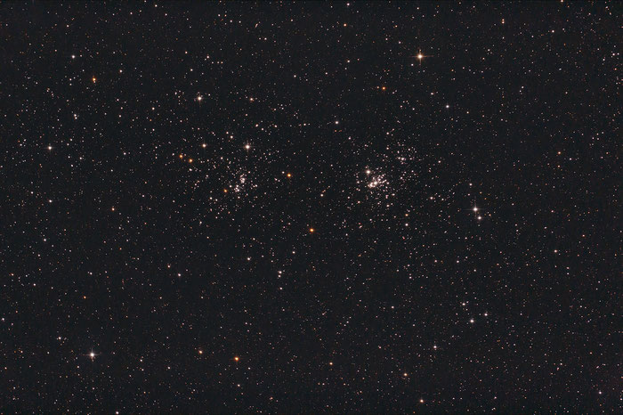 h & Chi Persei, Doppelsternhaufen, Double Cluster, NGC 869, NGC 884