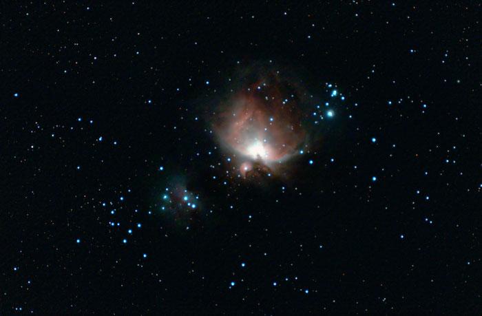Orionnebel M42 mit Canon EOS 1000D(a)