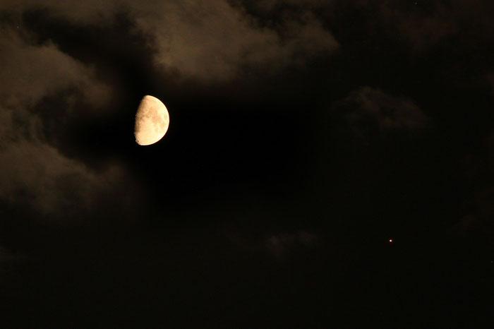 Mond - Mars - Konstellation