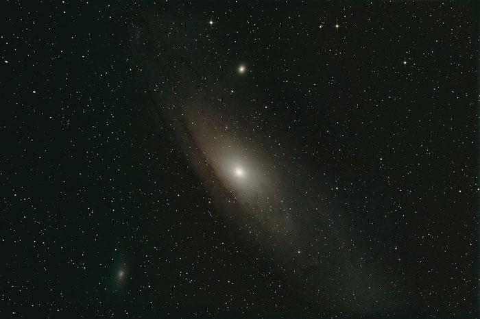 M31, Andromedagalaxie, Andromeda-Nebel, Skywatcher Newton 150/750