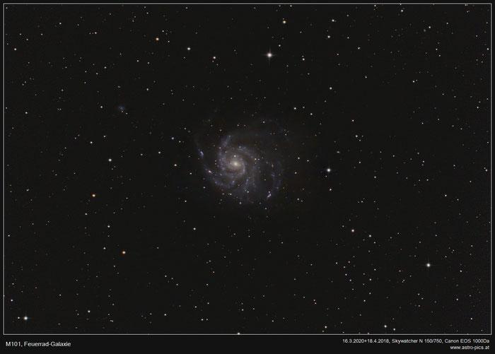 M101, Feuerrad-Galaxie