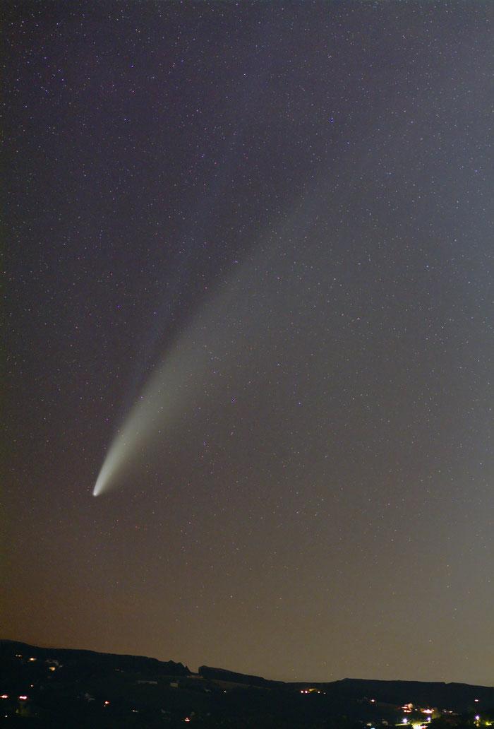 Komet Neowise, 14.7.2020