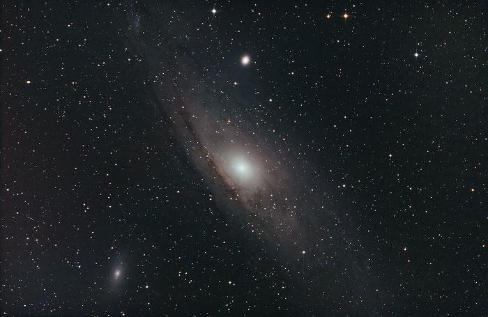 M31, Andromedagalaxie, Andromedanebel