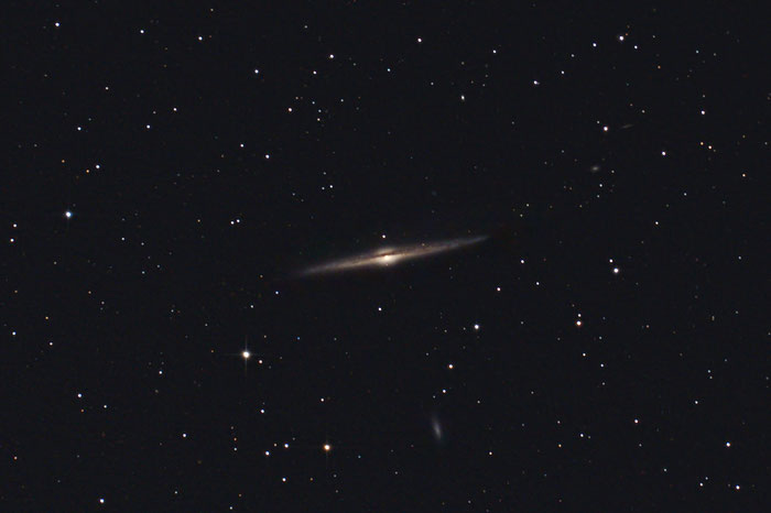 NGC 4565, Spindelgalaxie, Nadelgalaxie