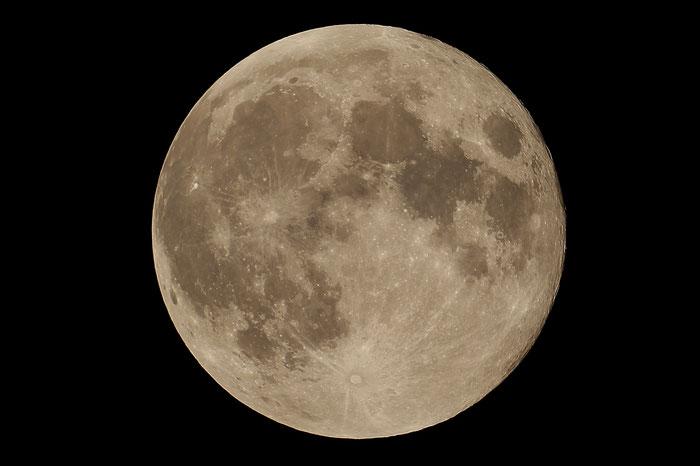 Blue Moon, Vollmond vom 31.1.2018