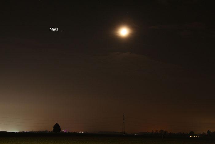 Mond, Mars